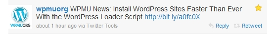 Twitter - Install WordPress Sites Faster
