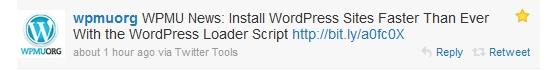 Twitter - Install WordPress Sites Faster